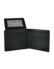 Leather Wallet - Flap-Up : 202VN