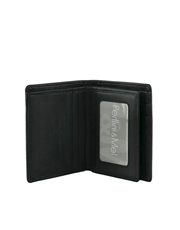 Leather Wallet - Center-Flap : JMS61VN