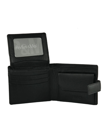 Leather Wallet - Flap-Up : 503VN